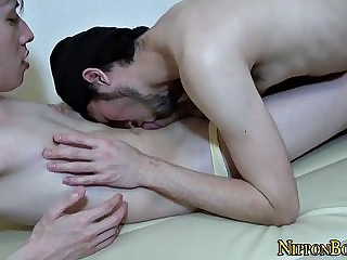 homosexual japanese man cums