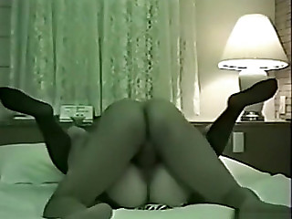 Oriental beauty receives fingered,threatening sucks jock and receives screwed for creampie.