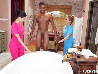 Asian massage therapy