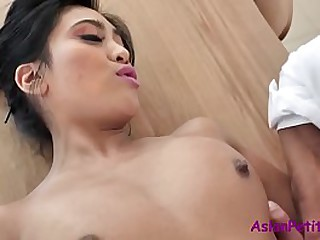 Teen Asian Slut Fucks Mature Man