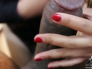 Big Titty Asian Gets Her First BBC