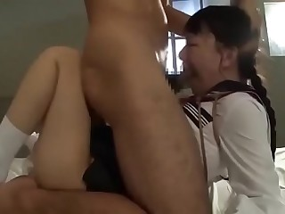 Tiny Japanese Masochistic Schoolgirls DeepThroated, Degraded & Fucked Hard # Part 1