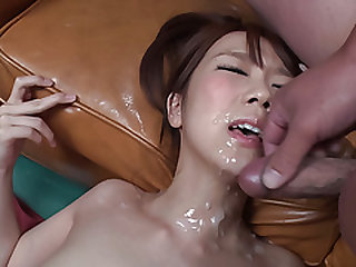 Hitomi Oki severe fucked and made to swallow spunk  - More at javhd.net