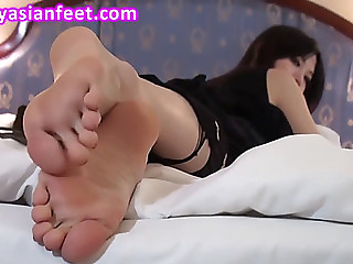 Erotic feet fearsomefearsome oriental foot model b